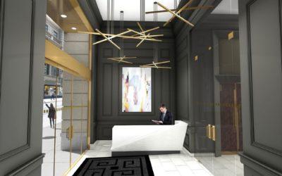 366 Madison Ave_Lobby Renovation